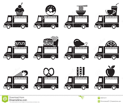 Truck Symbols. Camion And Trucks Icons Set Download Free Vector Art ...