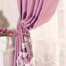 fadfay beautiful white ruffle blackout curtains for living room 2