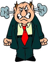 Angry Person Clip Art