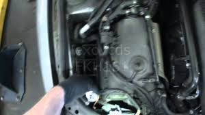 vw b5 passat replacing low beam headlight bulbs h7