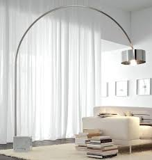 Arching Floor Lamp Uk by Cool Arc Floor Lamps Basque Steel And Brushed Nickel Lamp Style