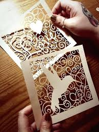 3d Paper Cut Art Template Tutorial Simple Snowflake Patterns To Out Cutting Templates