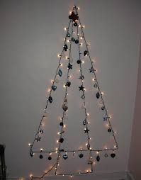 Lights In Shape Of Christmas Tree