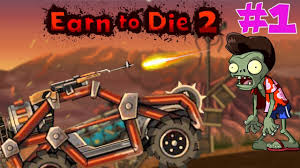 Earn To Die 2 - Zombie Accident Stunt Game Andriod/IOS Gameplay Part ...