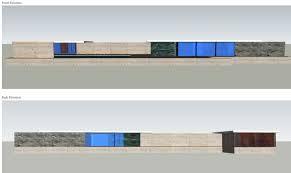 100 Barcelona Pavilion Elevation 3D CAD Nturnbull