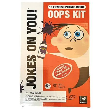 Reeve and Jones Jokes on You 10 Piece Oops Kit