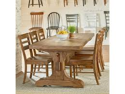 Magnolia Home By Joanna Gaines Farmhouse Seven Piece Trestle Table ... Standard Fniture Rossmore 7 Piece Rectangular Ding Set Dunk Maison Ranges Room Just Imagine The Beautiful Dinner Parties You Could Throw With This China White Nordic Event Party Table Tms Lucca 5 Multiple Colors Walmartcom 50 Outdoor Ideas You Should Try Out This Summer Tables And Chairs For Sale Wooden Buy Aspenhome New Year Christmas Style Chair Cover Decoration 2017 Bay Isle Home Solange Reviews Wayfair 5pcs Metal 4 Breakfast Black Dinner Mistana Thomasson