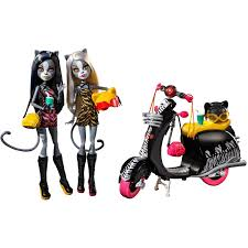 100 Little Sisters Truck Wash Monster High Werecats And Scooter Walmartcom