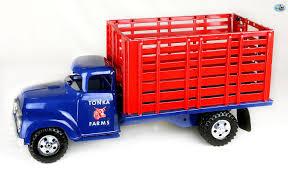 Awesome Original Restored Vintage 1950 Tonka Farms Livestock Truck ...