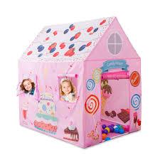 Amazoncom Anyshock Kids Play Tent Princess Playhouse Castle Tent