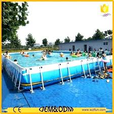 Swimming Pool Slide Big Pools For Sale Popular Water Park Adult And Kids Cheap