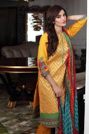 Latest Khaadi Eid Ul Azha Dress Collection For Girl