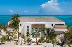 The Contemporary Caribbean Architecture Of Beach Enclave North Shore Beachfront Villas Providenciales Provo