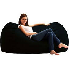 Fuf Bean Bag Chair Medium by Polyester Bean Bean Bags Furniture Ebay