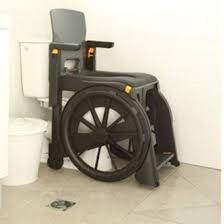 handicap toilet chair with wheels folding commode chair that can travel with you wheelable is