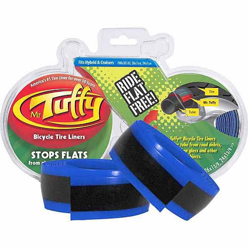 "Mr. Tuffy Bicycle Tire Liner - Blue, 26"" to 24"" x 1-3/8"""