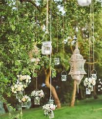 We Love The Idea Of Hanging Lanterns And Flowers From Tree Branches Using Garden Twine To Create A Magical Backdrop Your Wedding