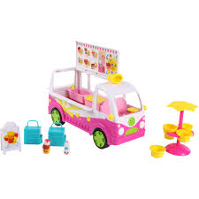 100 Toy Ice Cream Truck Shopkins Scoops Playset Toptradestorecom