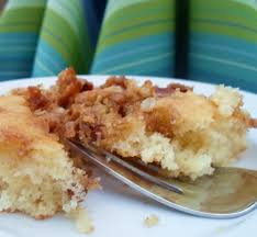Quick Buttery Coffee Cake made with Pancake Mix