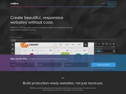 Webflow · Bootstrap Expo MBED Web Design