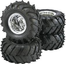 100 Chrome Truck Wheels Reely 110 Monster Truck Tractor 5spoke 4 Pcs