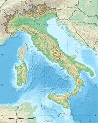 TemplateLocation Map Italy
