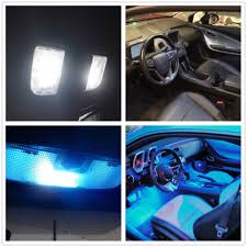 Blue Led Interior Lights For Cars Wljh 17x Error Free Pure White Car ...