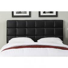 Black Leather Headboard With Crystals by Leather Headboard Queen Related Posts To Adorable Leather