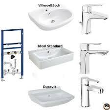 details zu wow waschtisch komplett set geberit v b ideal standard duravit armatur