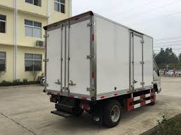 China Mini Euro 5 Refrigerator Small Truck Foton Refrigerator Truck ...