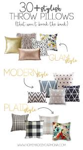 Replacement Sofa Pillow Inserts by 30 Gorgeous Throw Pillow Covers That Won U0027t Break The Bank Home