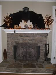 Halloween Mantel Scarf by Interior Agreeable Image Of Living Room Design And Decoration