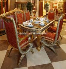 Italy Design Gilded Wooden Fancy Dining Table With Chairs For 6 People/  European Classic Golden Carving Dining Room Furniture, View Italy Design ... Cynthia Rowley For Hooker Fniture Shangrila Gilded Ding Queenie Eileenie The Room Classic Luxury Villa Interior Design Doha Qatar Cas Ding Room Interior Funcash Kitchen Dinette Chair Set Of 2 Golden Pu Leather Backrest Metal Legs Age Phillip Jeffries Gildedthronecom Classic Modern Contemporary Online Home 4 Oval Caned Back Regency Style Arm Or Chairs With Details Why A Bergre Is The Perfect And Where To Find Upholstered With Arms Antique Mahogany Wooden Finish Buy Armsantique Am Private Meeting Marion Flipse Partners