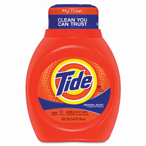 Tide Liquid Laundry Detergent - Original Scent, 25oz