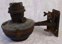 Aladdin Caboose Lamp Bracket by Vintage Aladdin Train Caboose Rr Car Lamp Bracket W Font Burner