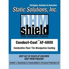 ohm shield conduct coat for conductive flooring static
