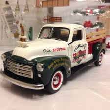 100 Long Bed Truck 124 Franklin Mint Green White 1950 GMC Bed Pickup 2000