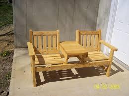 two seat garden bench by steveosshop lumberjocks com