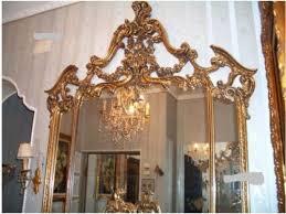 schlafzimmer barock konsole spiegel hartholz vitrine kommod