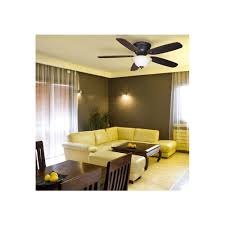 Harbor Breeze 52 Inch Ceiling Fan by Harbor Breeze Pawtucket 52 In Oil Rubbed Bronze Flush Mount Indoor