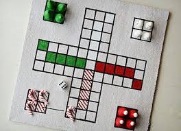 Festive Fun Diy Christmas Board Game