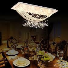 Best Price American Country Crystal Chandelier Dining Room Creative Rectangular Pendant Lamp Led Lighting Rh Drum Shade Kids