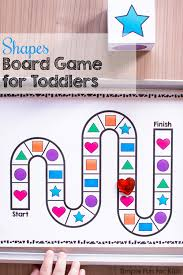 Are You Looking For A Fun Way To Practice And Review Shapes With Your Toddler Or