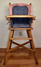 Eddie Bauer Wood High Chair Replacement Pad by Wooden High Chair Ebay