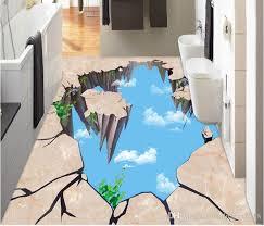 großhandel pvc vinyl böden bad marmor aufkleber 3d bodenbelag für wohn und schlafzimmer wallpaper2018 22 2 auf de dhgate dhgate