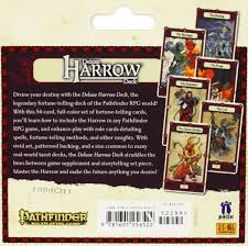 Harrows Christmas Trees by Pathfinder Campaign Cards Deluxe Harrow Deck Hunter Amazon Co Uk