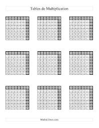 de multiplication plusieurs par page gauche jusqu à 49 a