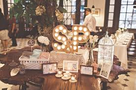 Rustic Wedding Reception Table Decor At The Halia Raffles Hotel Singapore