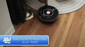 Roomba For Hardwood Floors Pet Hair by Irobot Roomba 650 Vacuum Cleaning Robot R650020 Overview Youtube