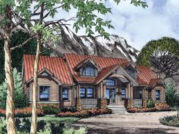 Super Cool 5 Rustic Mountain House Plans One Story Home Designs Photo Of Well